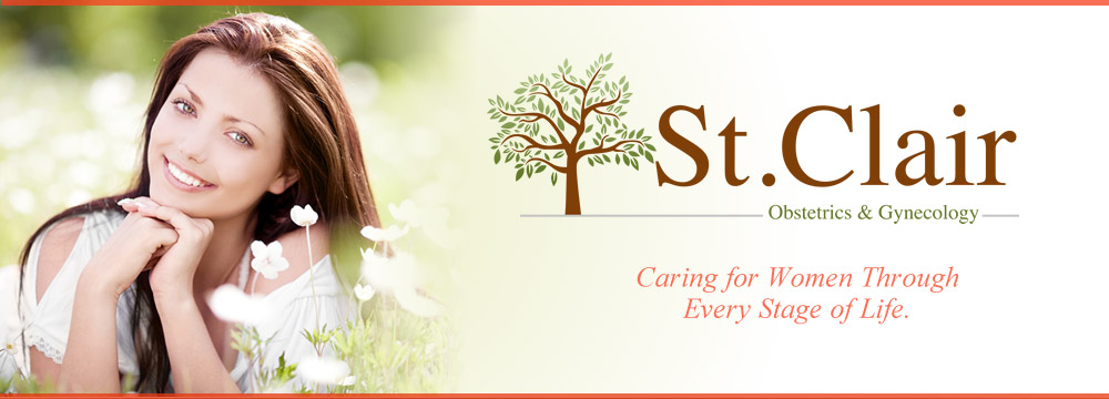 St. Claire Obstetrics & Gynecology. Caring for women through every stage of life.